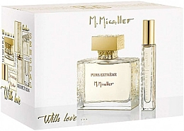 Voňavky, Parfémy, kozmetika M. Micallef Pure Extreme With Love - Sada (edp/100 ml + edp/10 ml)
