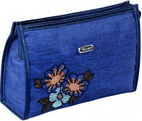 """Kozmetická taška """"Soft"""", 96006, modrá - Top Choice — Obrázky N1"""