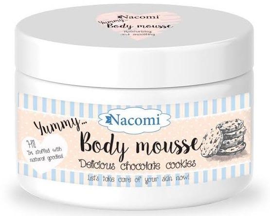 """Telová pena """"Čokoládové sušienky"""" - Nacomi Body Mousse — Obrázky N1"""