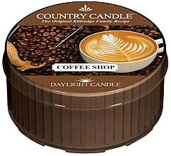 Voňavky, Parfémy, kozmetika Čajová sviečka - Country Candle Coffe Shop Daylight