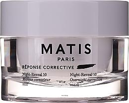 Voňavky, Parfémy, kozmetika Intenzívne hydratačná gélová maska na tvár - Matis Reponse Corrective Night Reveal 10 Overnight Corrective Mask