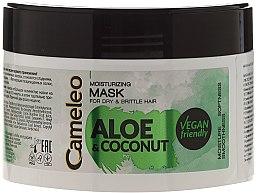 """Voňavky, Parfémy, kozmetika Hydratačná maska na vlasy """"Aloe a Kokos"""" - Delia Cosmetics Cameleo Aloe & Coconut Mask"""