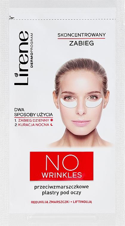 Náplasti pod oči proti vráskam - Lirene Dermo Program No Wrinkles — Obrázky N1