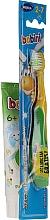 Voňavky, Parfémy, kozmetika Sada so žlto-zelenou kefkou - Bobini 2-7 (toothbrush + toothpaste/75ml)
