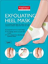 Voňavky, Parfémy, kozmetika Peelingová maska na päty - Purederm Exfolaiting Heel Mask
