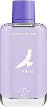 Voňavky, Parfémy, kozmetika Christopher Dark I'm Flying For Men - Toaletná voda