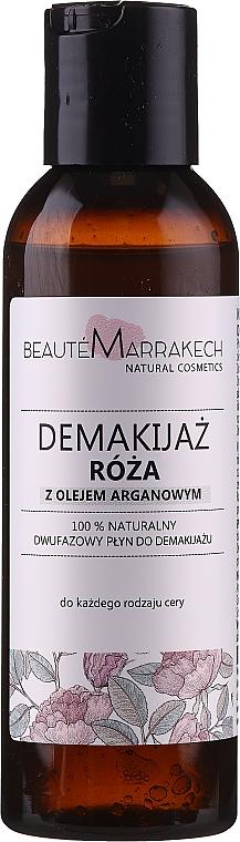 """Bifázický odstraňovač make-upu """"Ruže"""" - Beaute Marrakech Natural Two-phase Make-up Remover Rose"""