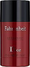 Voňavky, Parfémy, kozmetika Dior Fahrenheit - Deodorant v tyčinke