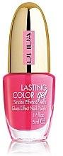 Voňavky, Parfémy, kozmetika Lak-gél na nechty so skleneným efektom - Pupa Lasting Color Gel Collection 2015