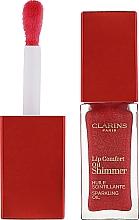 Voňavky, Parfémy, kozmetika Trblietavý olejový lesk na pery - Clarins Lip Comfort Oil Shimmer