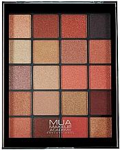 Voňavky, Parfémy, kozmetika Paleta očných tieňov - MUA 20 Shade Eyeshadow Palette