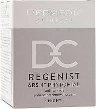 Voňavky, Parfémy, kozmetika Nočný krém proti vráskam 40+ - Dermedic Regenist ARS 4 Phytohial Night Anti-Wrinkle Enhancing Renewal Cream