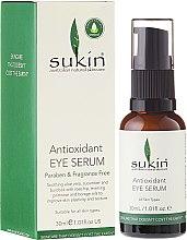 Voňavky, Parfémy, kozmetika Sérum pre pleť okolo očí - Sukin Antioxidant Eye Serum