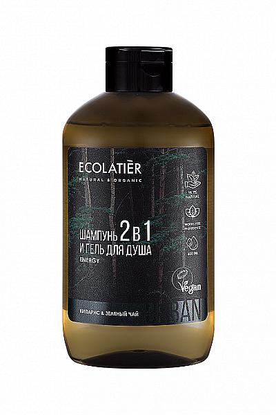 Pánsky sprchový gél a šampón 2 v 1 - Ecolatier Urban Energy