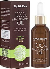 Voňavky, Parfémy, kozmetika Makadamský olej - GlySkinCare Macadamia Oil 100%