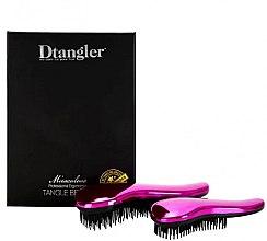 Voňavky, Parfémy, kozmetika Sada kefiek na vlasy - KayPro Dtangler Miraculous Pink (2xbrush)