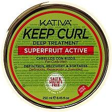 Voňavky, Parfémy, kozmetika Maska na kučeravé vlasy - Kativa Keep Curl Deep Treatment