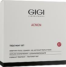 Voňavky, Parfémy, kozmetika Sada - Gigi Treatment Set (cleanser/100ml+night/cr/50ml+refresher/120ml)