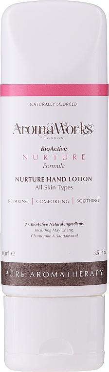 Lotion na ruky - AromaWorks Nurture Hand Lotion (tuba) — Obrázky N1