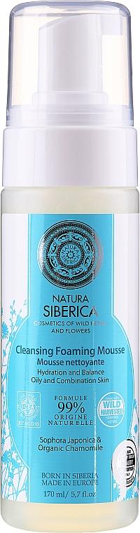 """Pena na umývanie """"Zvlhčovanie a vyváženie"""" - Natura Siberica"""