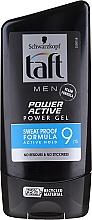 Voňavky, Parfémy, kozmetika Gél pre úpravu vlasov - Schwarzkopf Taft Looks Power Active Gel