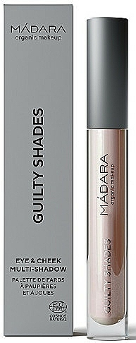 Tiene na viečka a líčka - Madara Cosmetics Guilty Shades Eye & Cheek Multi Shadow — Obrázky N1