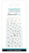 Voňavky, Parfémy, kozmetika Nálepky na nechtový dizajn, 3711 - Neess Diamondneess