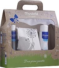 Voňavky, Parfémy, kozmetika Sada - Mustela My First Backpack (b/gel/200ml + shm/200ml + bag)