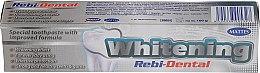 Voňavky, Parfémy, kozmetika Zubná pasta s bieliacim účinkom - Mattes Rebi-Dental Whitening Toothpaste
