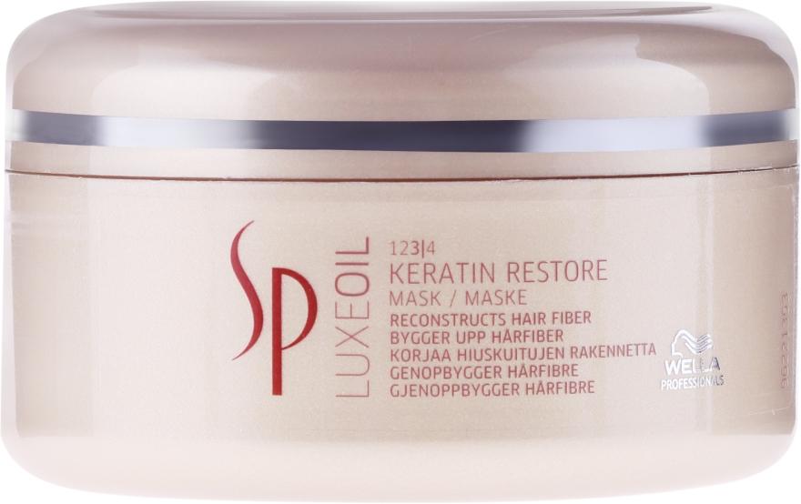 Maska na obnovenie keratínu vlasov - Wella SP Luxe Oil Keratin Restore Mask