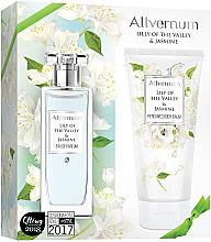 Voňavky, Parfémy, kozmetika Allvernum Lily Of The Valley & Jasmine - Sada (edp/50ml + b/lot/200ml)