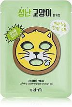 Voňavky, Parfémy, kozmetika Látková maska na tvár - Skin79 Animal Mask For Angry Cat
