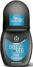 Voňavky, Parfémy, kozmetika Breeze Roll-On Deo Fresh Protection - Guľôčkový dezodorant