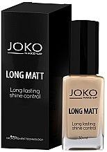 Voňavky, Parfémy, kozmetika Tonálny krém - Joko Long Matt