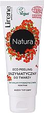 Voňavky, Parfémy, kozmetika Enzýmový eco peeling na tvár - Lirene Natura Eco Peeling