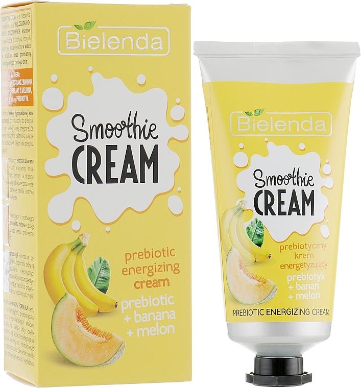"""Energizujúci krém na tvár """"Banán a melón"""" - Bielenda Smoothie Cream Banana And Melon"""