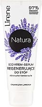 """Voňavky, Parfémy, kozmetika Krém na nohy """"Levanduľa"""" - Lirene Natura Eco Organic Lavender"""
