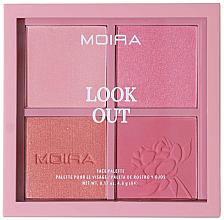 Voňavky, Parfémy, kozmetika Paleta na líčenie tváre - Moira Look Out Palette
