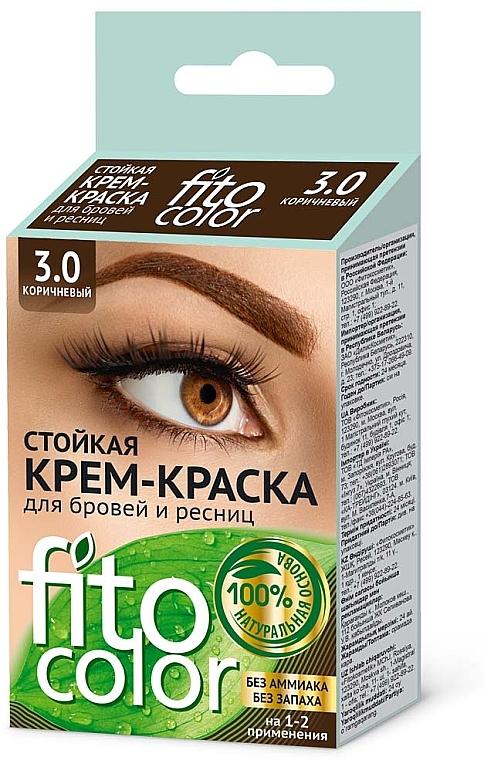 Krémové farbivo na obočie a mihalnice - Fito Kosmetik FitoColor