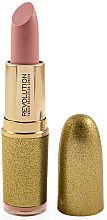 Rúž na pery - Makeup Revolution Life on the Dance Floor VIP Lipstick — Obrázky N1