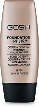 Voňavky, Parfémy, kozmetika Make-up - Gosh Foundation Plus SPF15