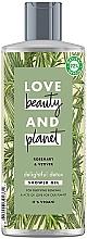 """Voňavky, Parfémy, kozmetika Detoxikačný sprchový gél """"Rozmarín a vetiver"""" - Love Beauty&Planet Delightful Detox Rosemary & Vetiver Shower Gel"""