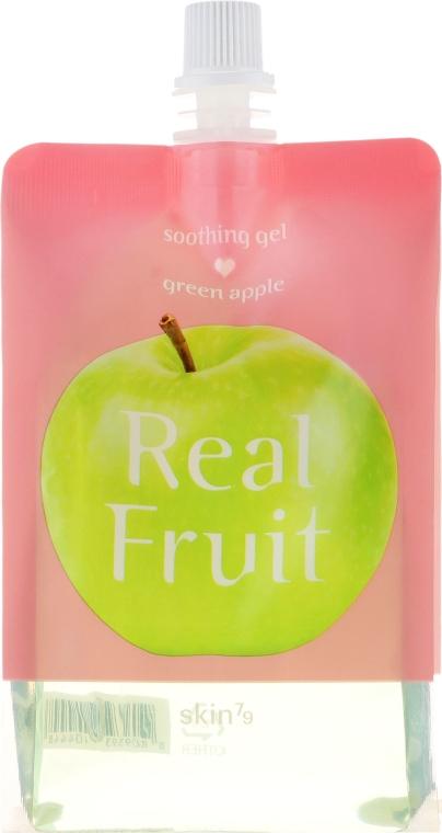 """Výživný gél """"Zelené jablko"""" - Skin79 Real Fruit Soothing Gel Green Apple"""