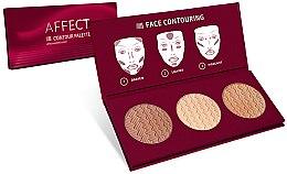 Voňavky, Parfémy, kozmetika Paleta pre kontúry tváre - Affect Cosmetics Contour Palette
