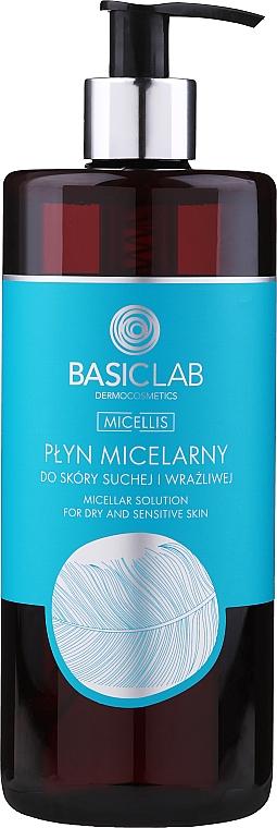 Micelárna voda pre suchú a citlivú pokožku - BasicLab Dermocosmetics Micellis