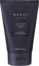 Voňavky, Parfémy, kozmetika Mikroexfoliačný scrub na tvár - Monat For Men Essential Face Scrub