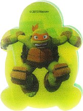 """Voňavky, Parfémy, kozmetika Detská špongia do kúpeľa """"Korytnačky Ninja"""" Michelangelo 3 - Suavipiel Turtles Bath Sponge"""