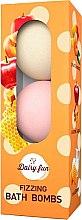 Voňavky, Parfémy, kozmetika Šumivé gule do kúpeľa - Delia Dairy Fun Fizzing Bath Bombs