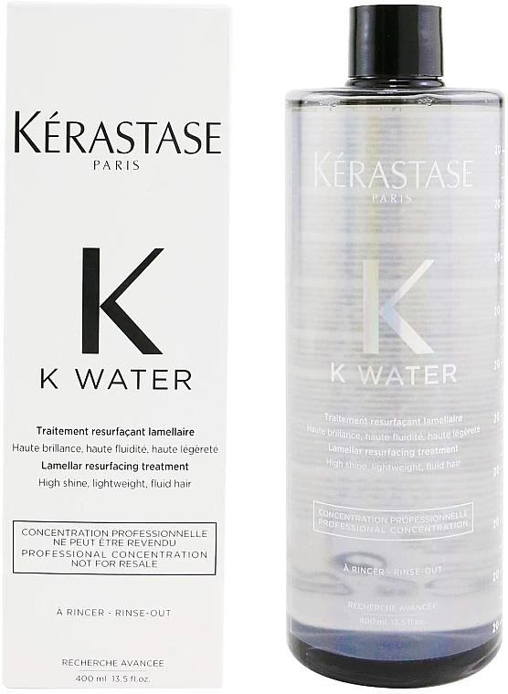 Lamellarová voda na vlasy - Kerastase K Water Lamellar Hair Treatment