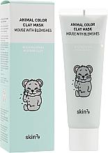 Voňavky, Parfémy, kozmetika Čistiaca ílová maska - Skin79 Animal Color Clay Mask Mouse With Blemishes